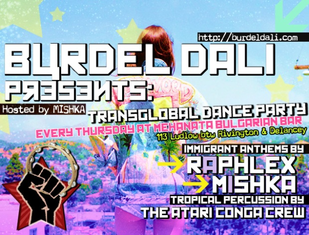 burdel dali presents summer dance party gypsy global world raphlex mishka mishto mehanata