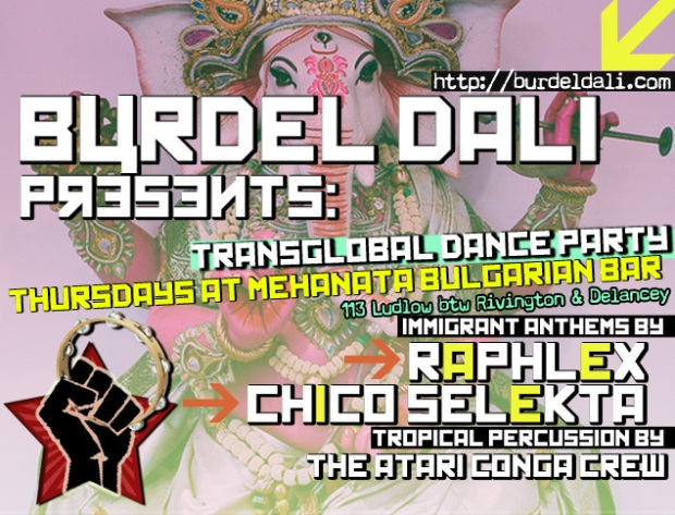 burdel dali gypsy punk dance party mehanata bulgarian bar
