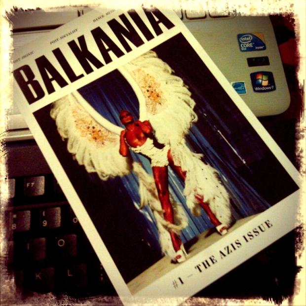 azis balkania fanzine